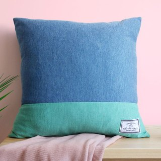 Knotted Pillow - Mint Ice-cream