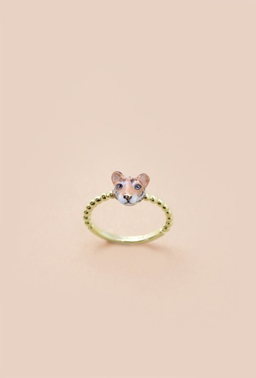 Tiger Ring - Chinese zodiac animals. Sign - Zign Collection , 虎年