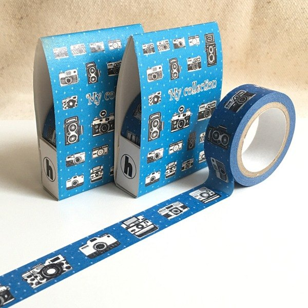 [Hoppy] Life-Camera2 camera blue paper tape / GTIN: 4713077970638