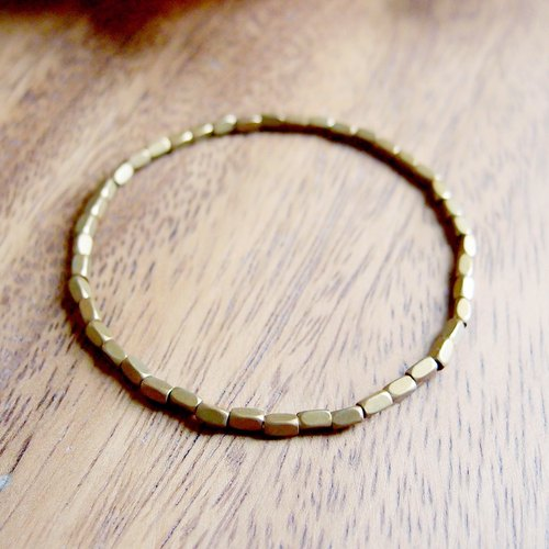 VIIART. Sealless VII. Customized brass bracelet
