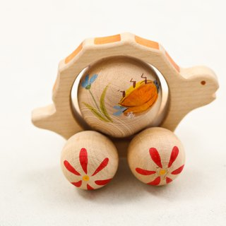 Russian Building Blocks - Beech Fairy - Scroll Series: Beetle Pattern Little Turtle