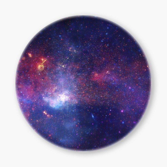 Snupped Ceramic Coaster - 星系系列 - 陶瓷杯墊 - The Milky Way 銀河