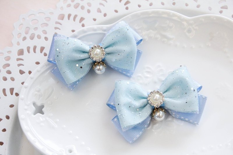 Sweet House ice princess small bangs clip