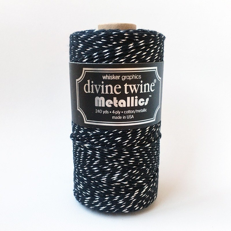 US imports Divine Twine Metallics Black Diamond Black Diamond