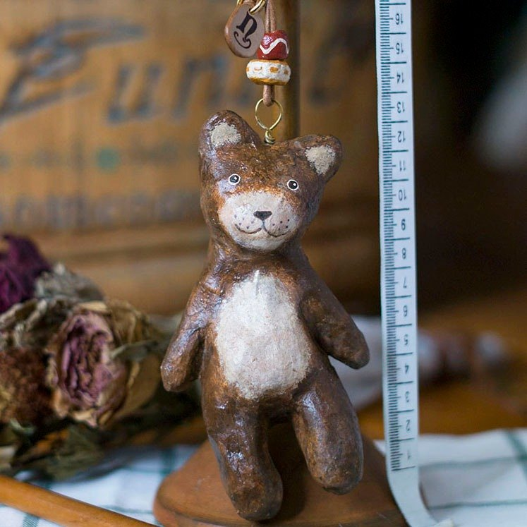 Bear Key Ring / Animal Key Ring