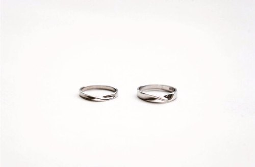 (Single) Infinity Ring 925 Silver Ring Men's Ring Women's Ring