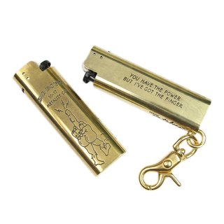 Brass Lighter Case - Vietnam War Finger