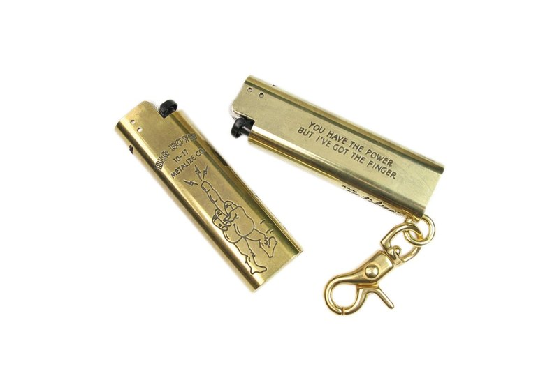 [METALIZE] Brass Lighter Set - Vietnam War