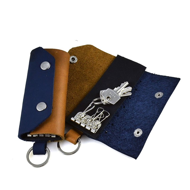 (U6.JP6 handmade leather) pure handmade imported leather hand made sewing. Wallets / key cover / key collection (girlfriends / lovers group /)