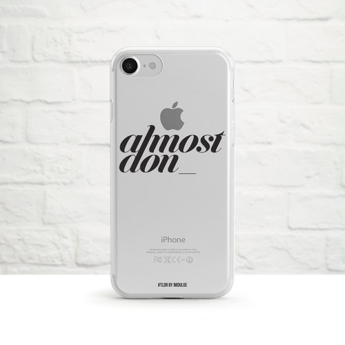 Too sexy to be Android, Clear Soft Case, Clear Soft Case, iPhone X, Samsung