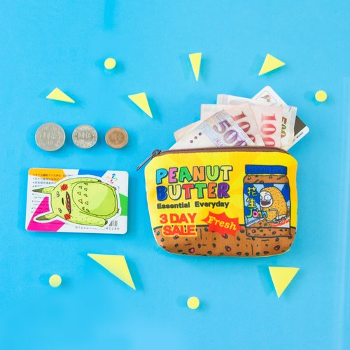 【Coin purse - Peanut John peanut butter】 Coin purse / MKAC