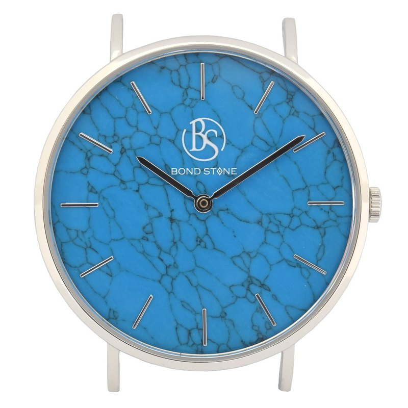 BOND STONE SHINE TURQUOISE 40mm watch body only (belt optional)