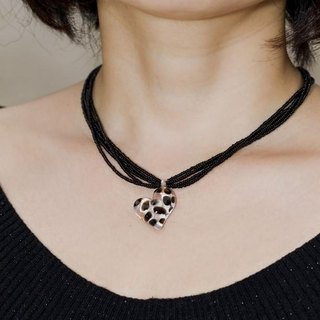 Black Heart Pendant