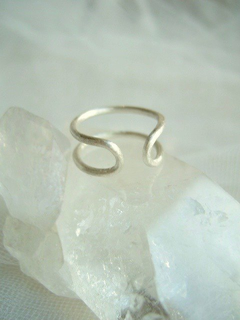Silver parallel ring 1.8 mm