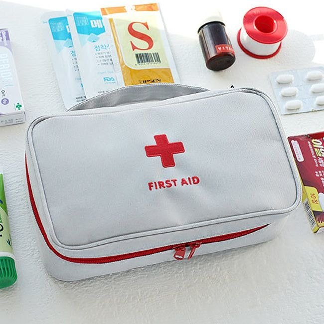 2NUL-Around Good Partner First Aid Kit L-Ash Cross, TNL84376