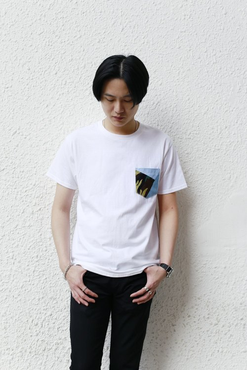 Patchwork Pocket Tee
