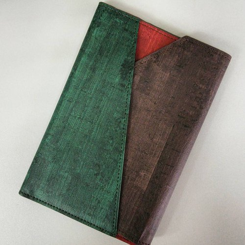 Hand made leather play color modeling passport sets