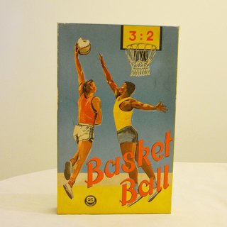 Germany early thrift toy basketball board games