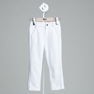 Formal suit pants (white)