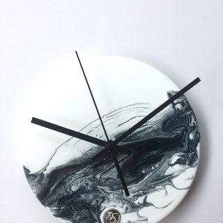 【Chinese Paint・Planet・Hand made wall clock】20cm