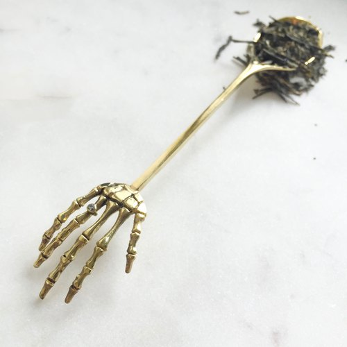 Teaspoon - for bone brass