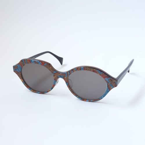 kaku-maru 76(earth) eyewear glasses