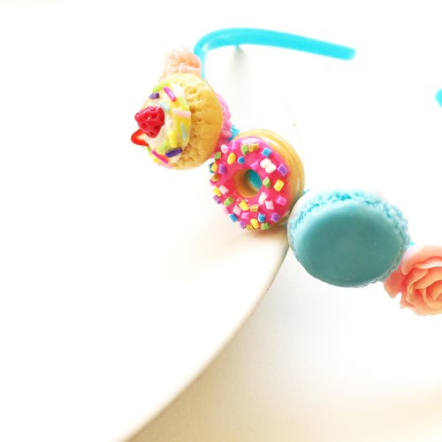 hairband 3 blue