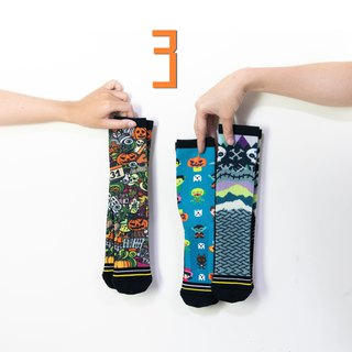 [Halloween socks-3 into the group surprise package] - Xiao Chuang socks