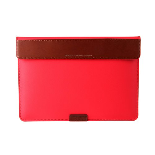 BEFINE Stand Pouch II MacBook Pro 15 (2016) special admission package computer protection - red (there are Touch Bar functional MacBook Pro 15 was put into oh) (8809305227462)