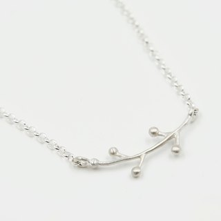 I-Shan13 | little grass necklace (short)