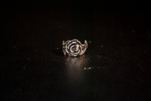 | Alarein | Handmade Silver | Forest Series | Ring | Rosa