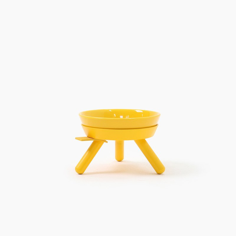 Oreo Table Dish rack set - Yellow
