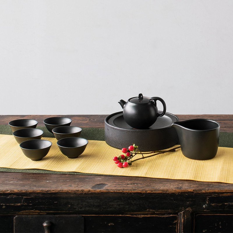 Tao workshop 靓 靓 满 full pot 9 pieces