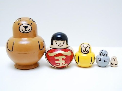 Kintaro * Matryoshka * Friends 5 people Shu [3]