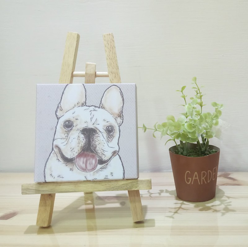 Small picture frame - lightweight frameless painting - law