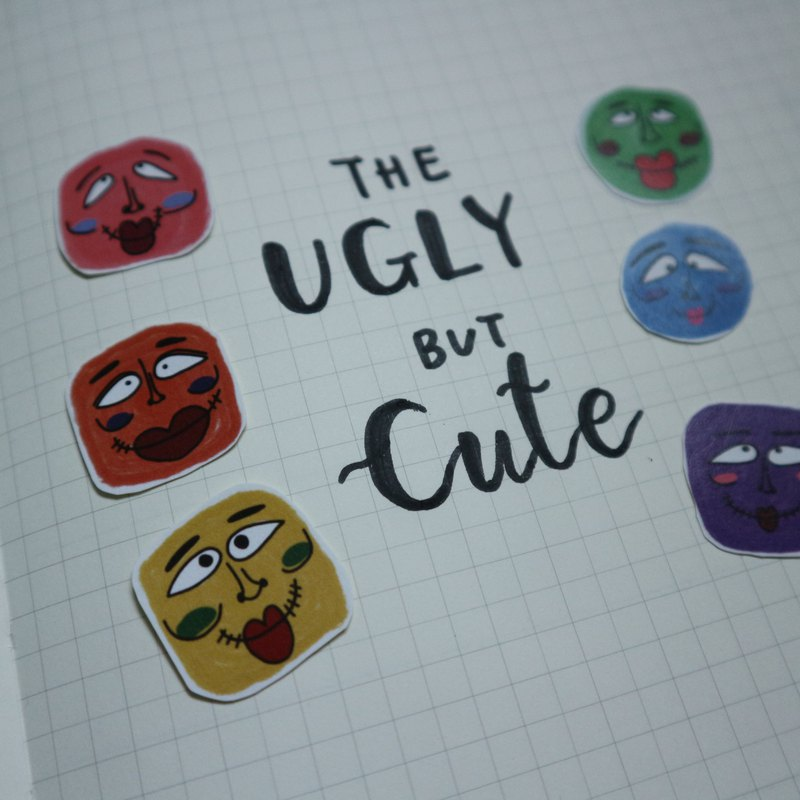 Ugly sticker