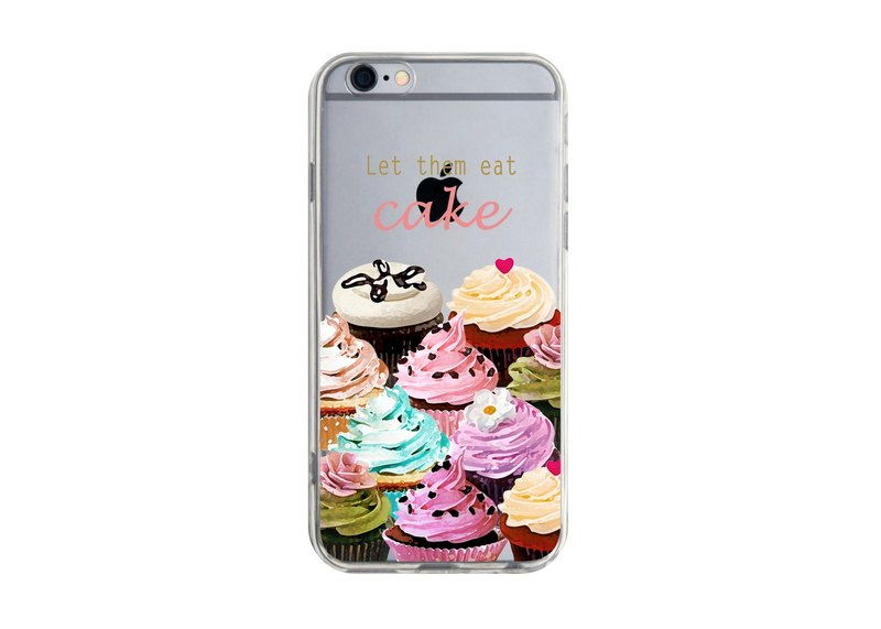 Custom cupcakes transparent discourse Series 7 Samsung S5 S6 S7 note4 note5 iPhone 5 5s 6 6s 6 plus 7 7 plus ASUS HTC m9 Sony LG g4 g5 v10 phone shell mobile phone sets phone shell phonecase
