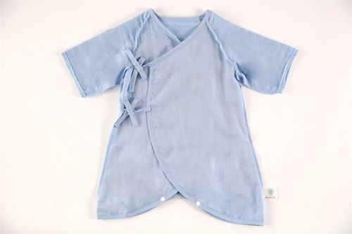 MARURU Nippon colorful gauze clothing (blue) 60-70cm