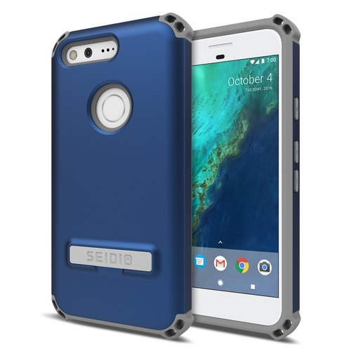 Military-grade four-corner collision protection shell / phone shell for Pixel-dark blue-DILEX series