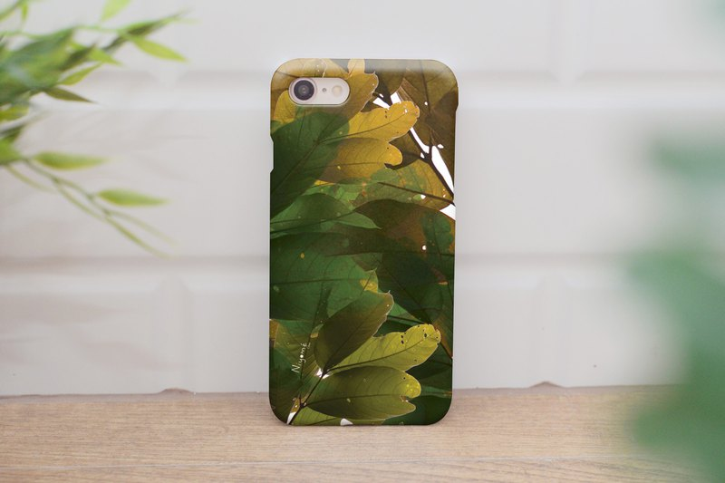 43-3 abstract leafs iphone case for iphone 6,7,8, plus iphone xs, iphone xs max