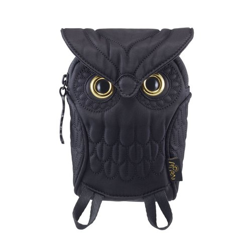 Morn Creations genuine owl Mobile Phone - Black (OW-105-BK)