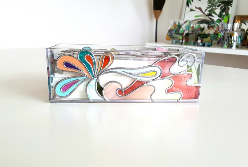 Order GlassArt made Tissue Paper Case