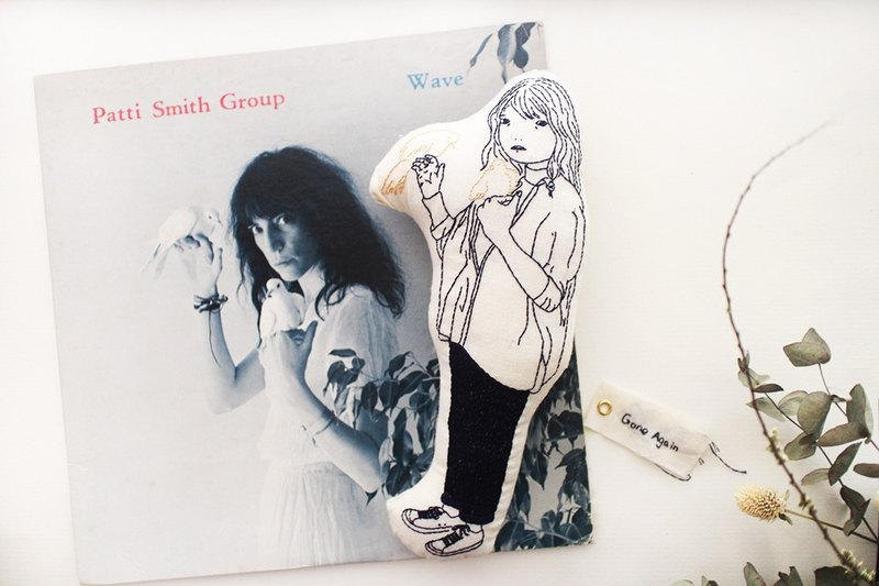 手缝插畫手伴【I am not Patti Smith】| Sako Studio