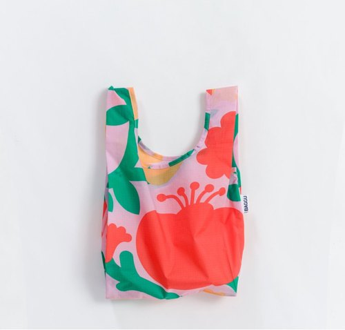 [New] SC. GREEN Storage Eco Tote Bag - Mini Size - Poppies