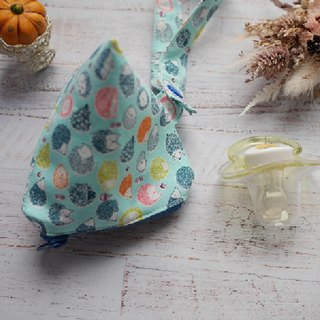 Hedgehog stereo triangle pacifier bag