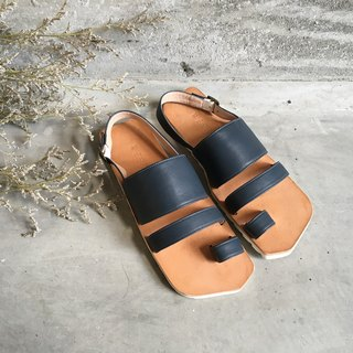 CLAVESTEP XIII Sandals - Leather Sandals - thirteen - Deep Blue