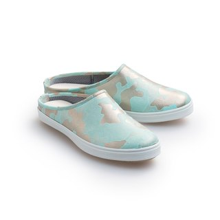 """Baby Day"" MIT pearl camouflage casual shoes ""women shall"" green gold shoes paternity shoes"