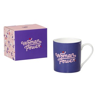 SUSS-UK Import Wild & Wolf Women's Age Woman Power Ceramic Mug - Spot