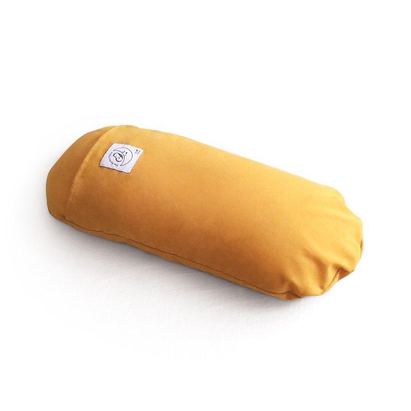 微粒型小睡枕-芥末黃 | 助眠.午休枕.靠枕.輕鬆.舒壓