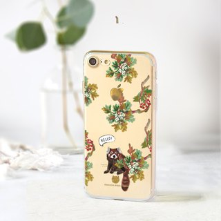 Animal clear phone case Floral iPhone x Case OPPO r9 case HTC U11 case S8 case